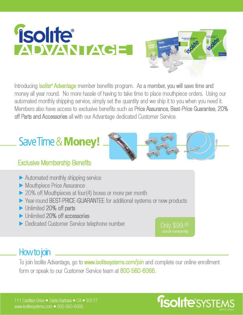 Isolite Advantage PDF