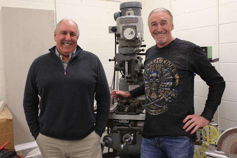 Dr. Tom Hirsch and Jim Hirsch